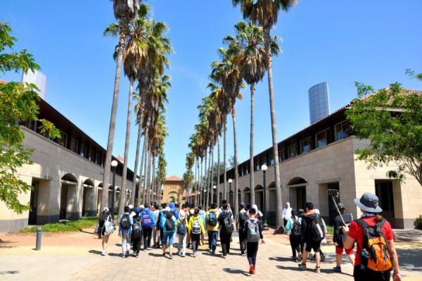 游览斯坦福大学